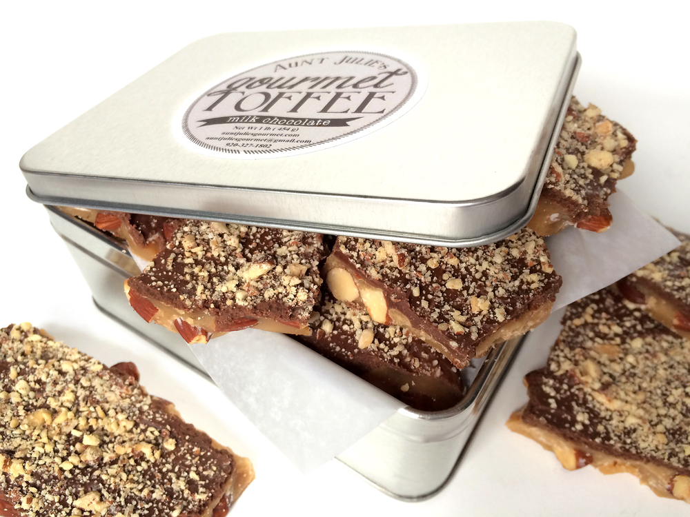 gourmet toffee candy